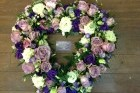 Open Heart Sympathy Wreath